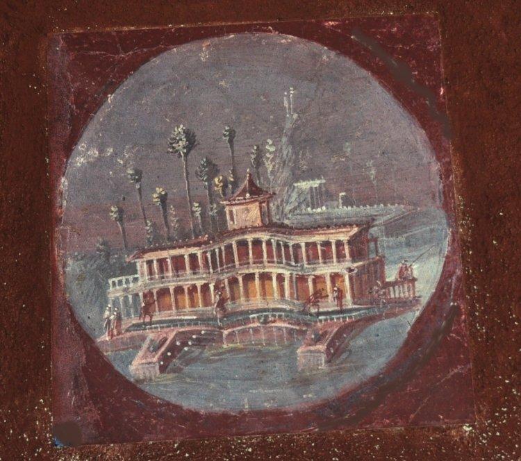 Fresques villa san marco stabies proche castellammare di - Piscine san marco ...
