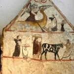 paestum musee fresque-sacrifice et offrandes