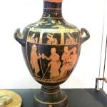 paestum musee-vase Idra d'Assteas. Les adieux de Bellerofonte. IV av. JC-4
