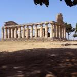 paestum-temple de cérès ou d'athénas 500 av J-C