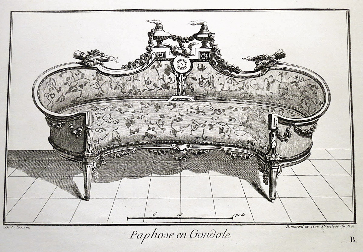 Art Appliqu Mobilier Le Meuble L Poque Louis Xvi D Apr S L  # Meuble Dessin Ancien