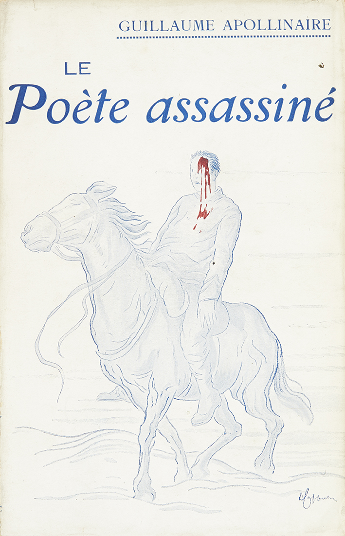 apollinaire-guillaume-le-poete-assassine-paris-bibliotheque-des-curieux-1916-191-x-121-mm-br-couverture-illustree-par-capiello-edition-originale-illustree-en-frontispice-par-andre-rouveyre-pas-de-grand-papier--3