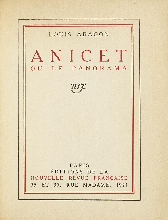 aragon-louis-anicet-ou-le-panorama-paris-nrf-1921-212-x-173-mm-demi-maroquin-bleu-nuit-a-coins-dos-a-quatre-nerfs-titre-or-tete-doree-couverture-et-dos-conserves-edition-originale-un-desexemplaires-hors-commerce-d-des-120--8