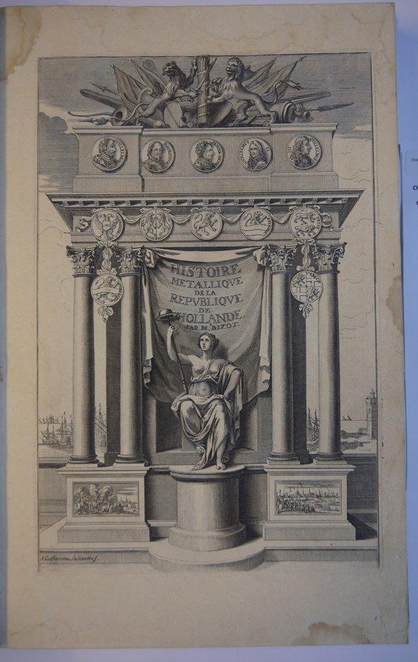 Bizot pierre histoire m tallique de la r publique de hollande 1687 bibli - Www chayette cheval com ...
