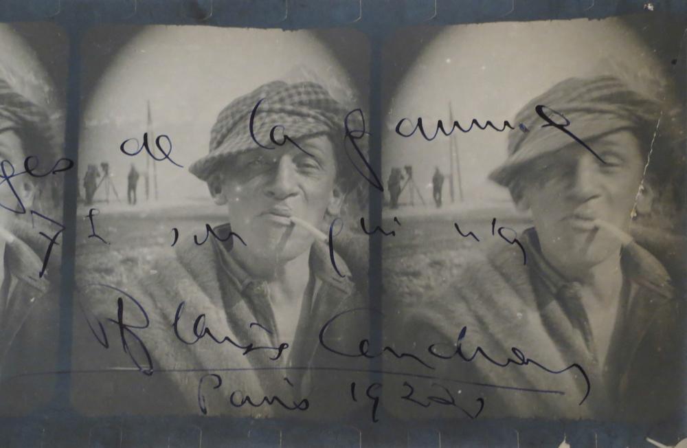 Cendrars blaise suisse 1887 1961 paris photos et correspondance sign e - Vente correspondance belgique ...