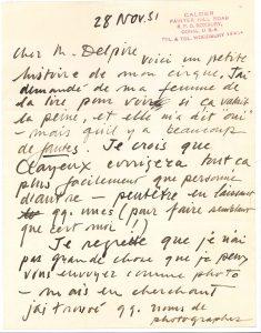 alexander-calder-1898-1976-manuscrit-autographe-signe-petite-histoire-de-mon-cirque-avec-l-a-s-denvoi-a-robert-delpire-roxbury-28-novembre-1951-12pages-in-4-avec-addition-dune-note-collee-au-scotch-en-page1-avec-quelques--12_3