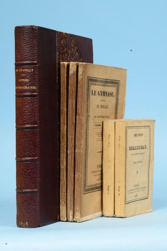 Balzac honor de ensemble trois ouvrages imprim s par - Chambre nationale commissaire priseur ...