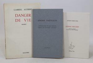 Queneau Raymond André Frénaud Lithographie De Jean