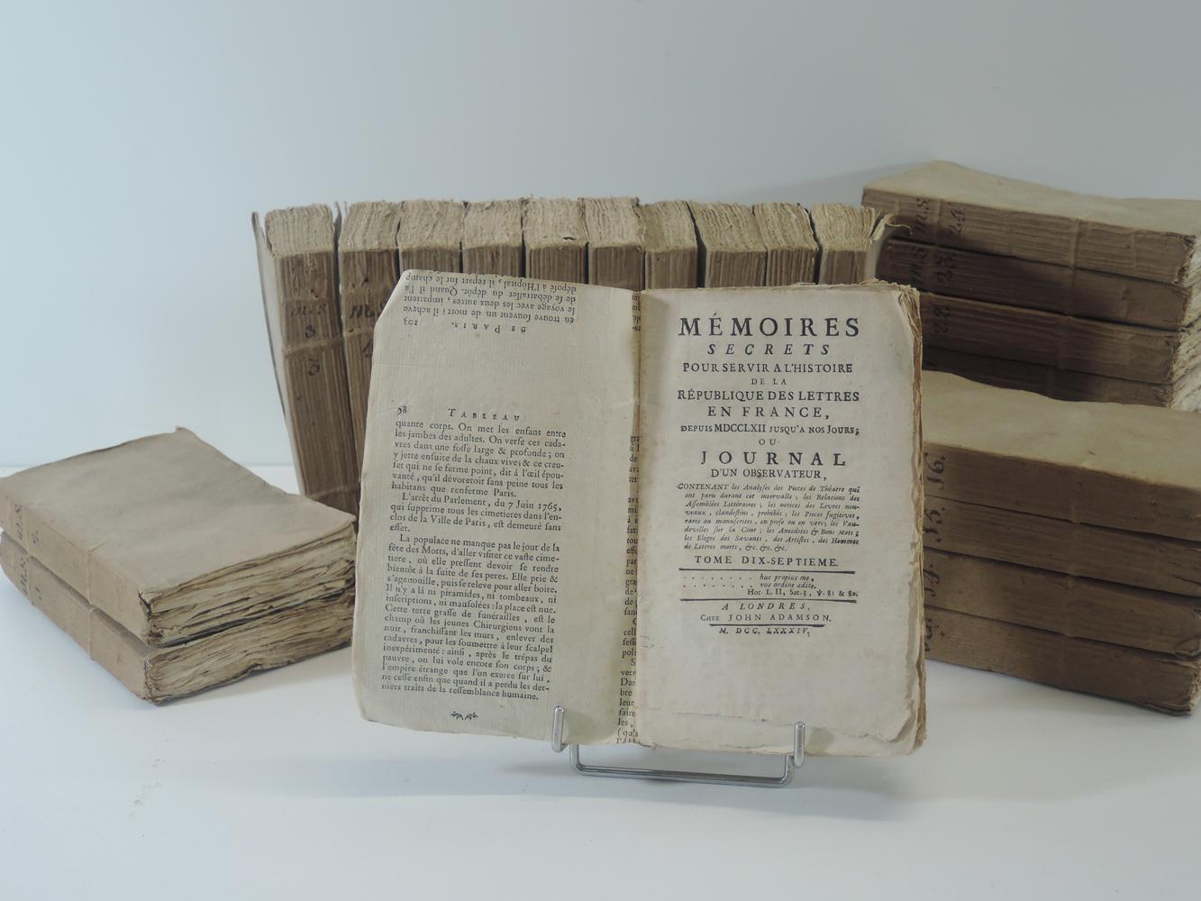 louis-petit-de-bachaumon-memoires-secrets-pour-servir-a-l-histoire-de-la-republique-des-lettres-en-france-de-1762-a1787-chez-john-adamson-londres-1784--6