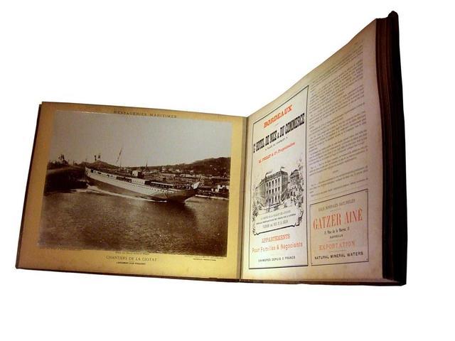 dalmouth de yaroschewitch album photographique des paquebots postes des messageries