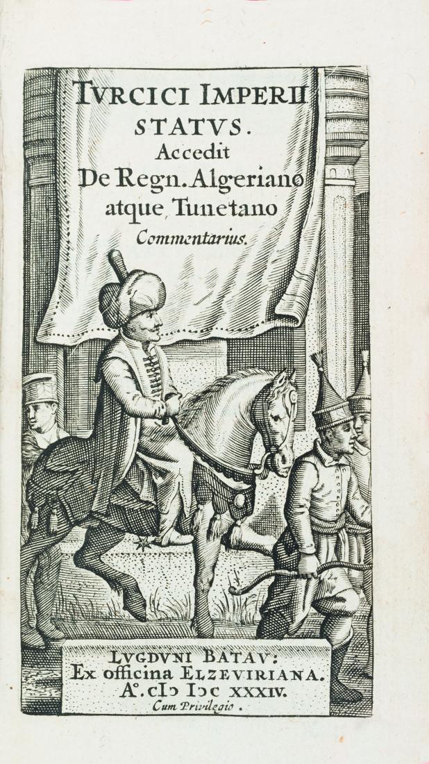-anonyme-turcici-imperis-status-acedit-de-regni-algeriano-atque-turctano-commentario-lugduni-batavorum-elzeviriana-1634-in-24-velin-ancien-a-rabat--1