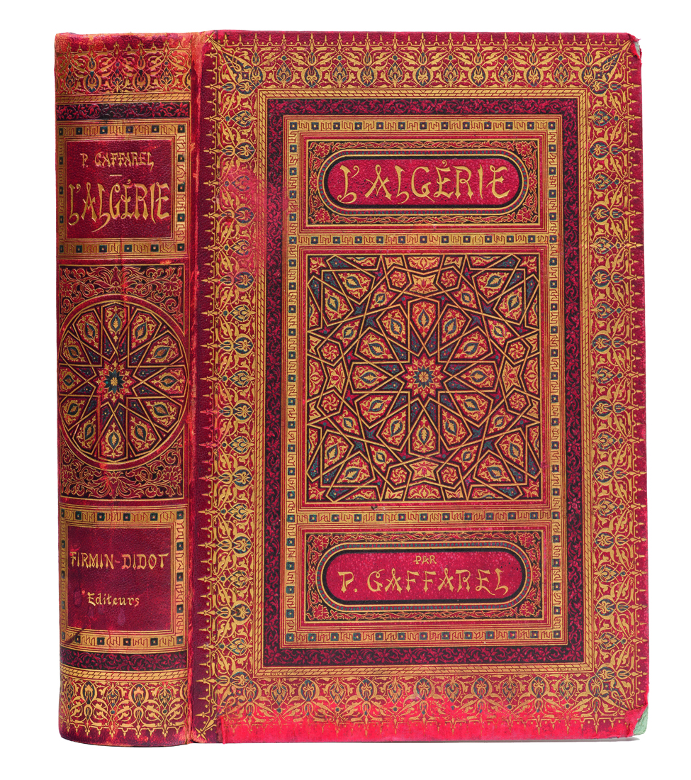 gaffarel-paul-l-algerie-histoire-conquete-et-colonisation-paris-librairie-de-firmin-didot-1883-in-4-reliure-richement-ornee-de-l-editeur--118