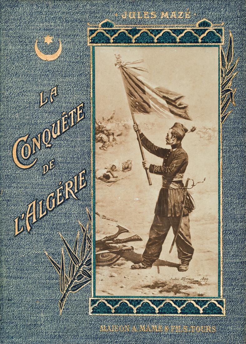 -la-pinsonniere-de-colonisation-de-l-ex-regence-d-alger-documents-officiels-deposes-sur-le-bureau-de-la-chambre-des-deputes-paris-chez-l-editeur-l-g-michaud-delaunay-1834-in-8-demi-veau-dos-lisse-orne-reliure-de-l--85