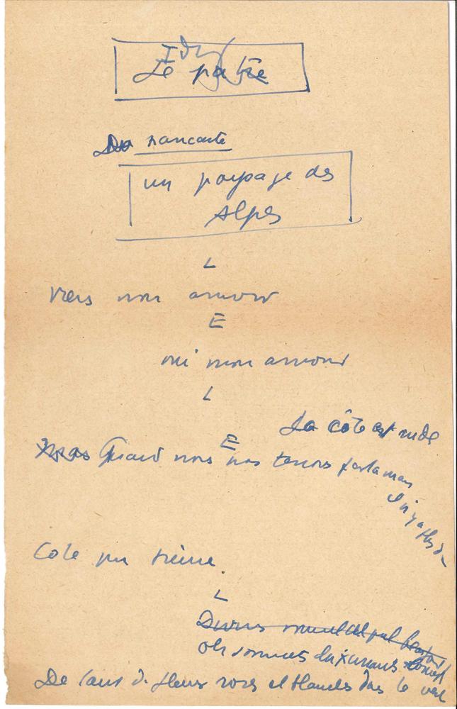 jean-anouilh-1910-1987-manuscrit-autographe-le-patre-vers-1930-8-pages-petit-in-4-ecrites-au-dos-de-musiques-imprimees-et-un-feuillet-un-peu-effrange-au-dos-dun-brouillon-de-lettre-a-dalio-sketch-publicitaire-pour-la--4