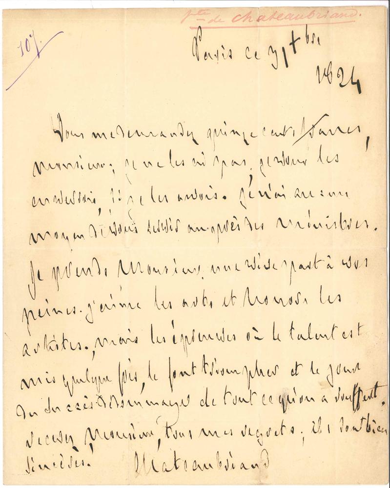francois-rene-de-chateaubriand-l-a-s-paris-31-decembre-1824-a-hector-berlioz-1-page-in-4-belle-lettre-citee-par-berlioz-dans-ses-memoires-chap-vii-en-reponse-a-une-demande-daide-du-jeune-compositeur-pour-faire-creer-sa--70