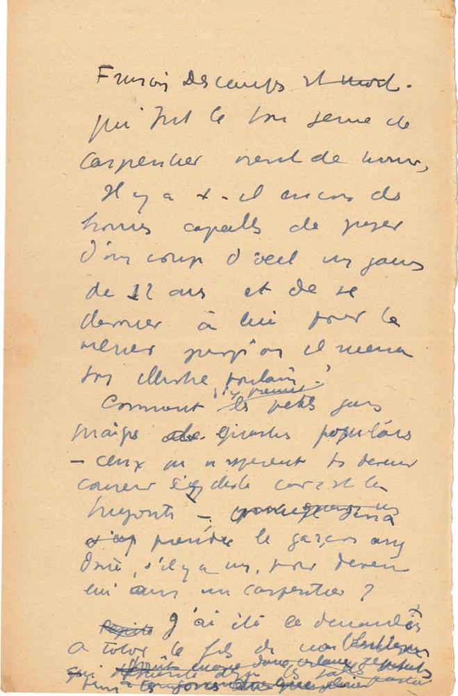 jean-anouilh-manuscrit-en-partie-autographe-sur-francois-descamps-fevrier-1934-22-pages-et-demie-in-4-dont-3-pages-et-demie-entierement-autographes-au-dos-de-musiques-imprimees-hommage-au-boxeur-francois-descamps-1875-1934--8
