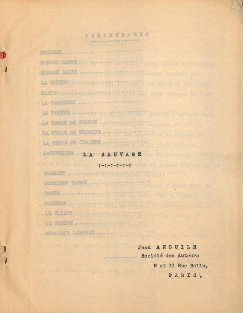 jean-anouilh-tapuscrit-la-sauvage-1934-in-4-de-2-66-69-57-pages-dos-toile-noire-couv-papier-fort-rouge-manque-a-la-couv-inf-premier-etat-tres-different-du-texte-definitif-de-cette-piece-ecrite-en-1934-et-creee-au--9