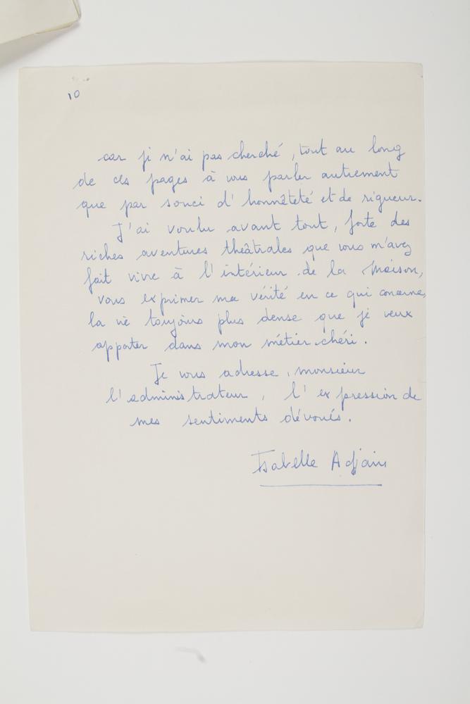 isabelle-adjani-nee-1955-actrice-l-a-s-paris-28-juin-1974-a-pierre-dux-10-pages-in-4-numerotees-attachees-par-une-agrafe-tres-belle-et-longue-lettre-sur-son-metier-de-comedienne-et-son-travail-a-la-comedie-francaise--310