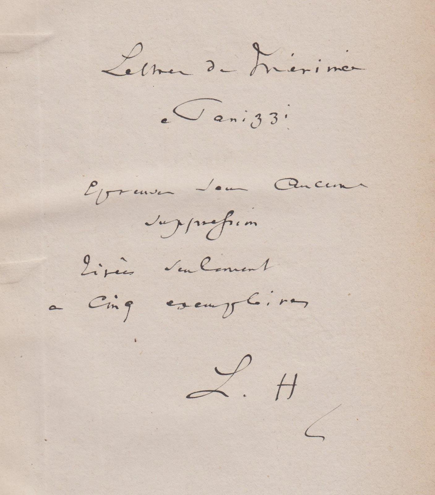 merimee-prosper-edition-a-l-etat-d-epreuves-des-lettres-a-m-panizzi-paris-calmann-levy-14avril-28-mai-1880-2-volumes-in-8-bradel-demi-maroquin-vert-empire-reliure-de-l-epoque--351_1