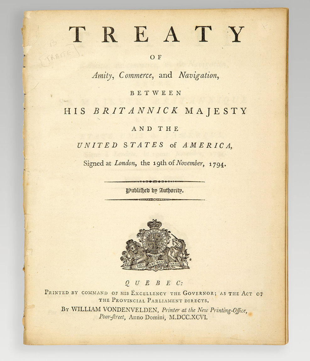 americana-treaty-of-amity-commerce-and-navigation-between-his-britannick-majesty-and-the-united-states-of-america-signed-at-london-the-19th-of-november-1794-traite-d-amitie-de-commerce-et-de-navigation-entre-sa-majeste-britannique--5