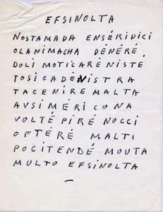 écrits Inédits Manuscrits Quatre Poèmes Efsinolta 10